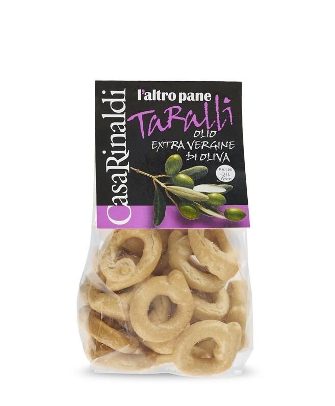 Taralli mit Olivenöl extravergine