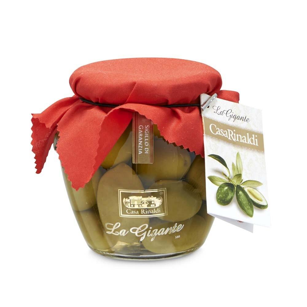 grüne Oliven Bella di Cerignola DOP