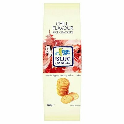 Rice Crackers - Chilli Flavour