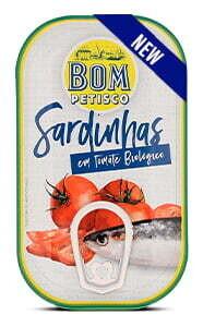 Sardinen ganz in Bio Tomatensauce