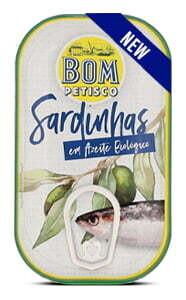 Sardinen ganz in BIO Olivenöl
