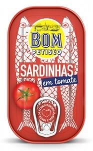 Sardinen ganz in Tomatenesauce