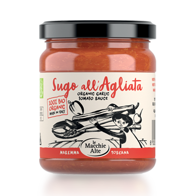 Agliata - Tomaten und Knolbauch Pasta Sauce BIO