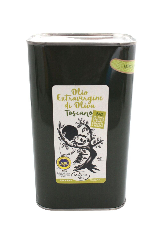 Olivenöl extravergine Toskana IGP - BIO