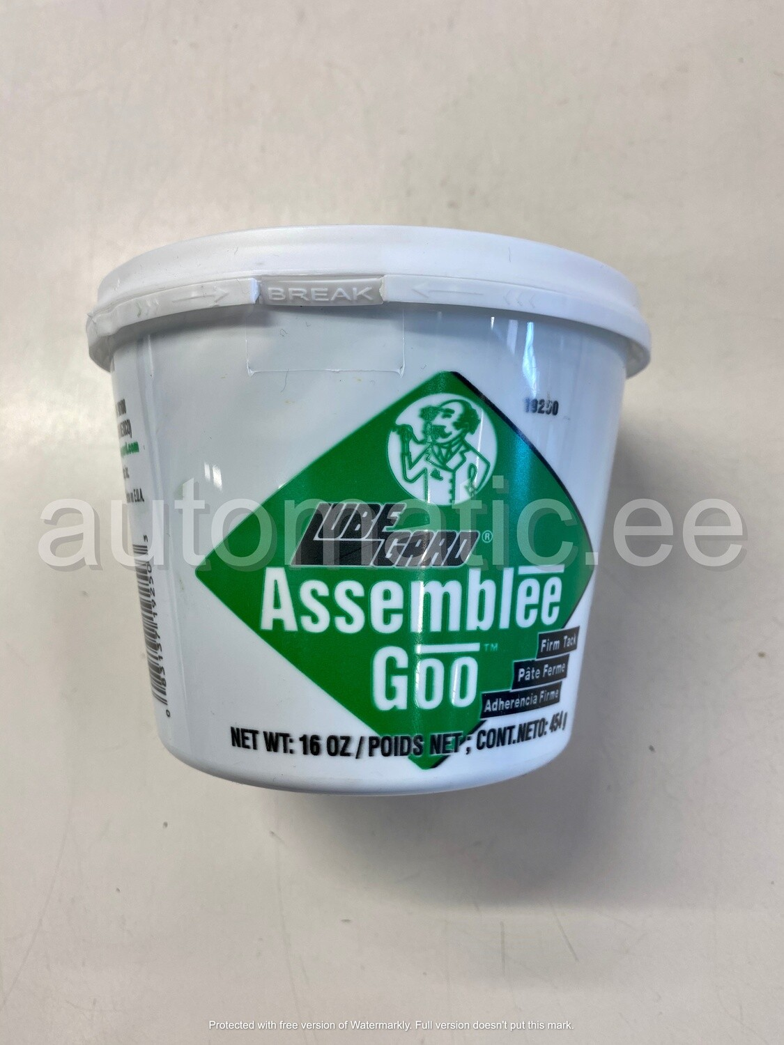 Transmission Assembly Lube, (Green)
