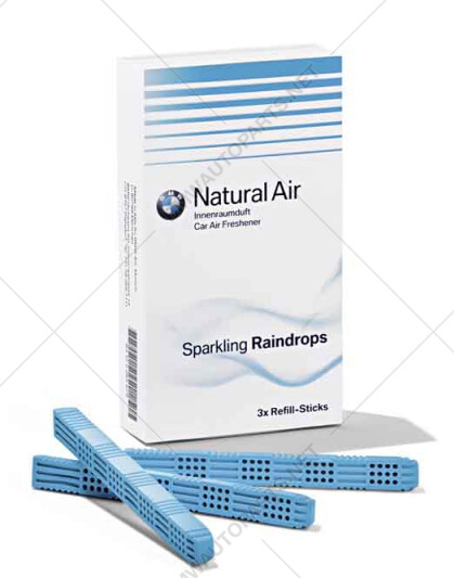 "Refill kit for interior scent ""Sparkling Raindrops"""