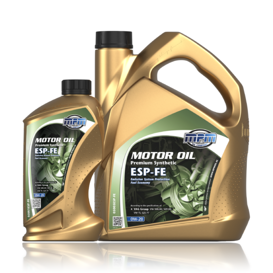 MPM MOTOROIL 0W-20 Premium Synthetic ESP-FE