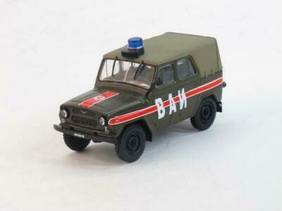 MUDEL  UAZ-469 VAI-Military