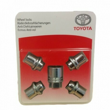 KOMPLEKT A3 WHEELLOCKSET TOYOTA (5PC)