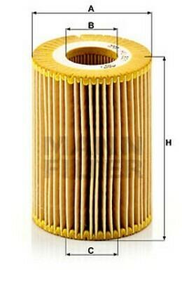 Õli filter MANN  HU 821 X