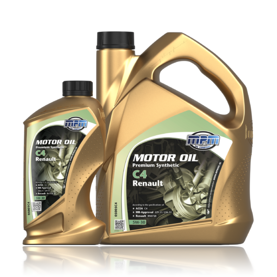 MPM MOTOROIL 5W30 Premium Synthetic C4