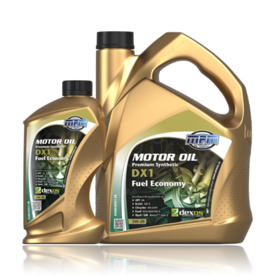 MPM MOTOROIL 5W20 Premium Synthetic DX1-FE