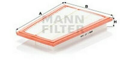 Воздушный фильтр MANN-FILTER C 27 006