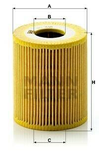 Масляный фильтр MANN-FILTER