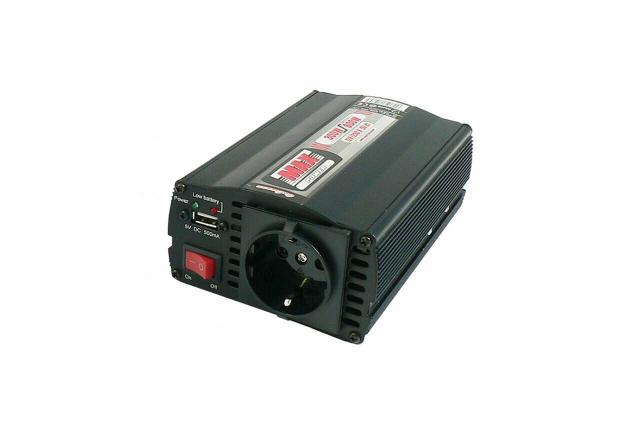 Inverter with USB 24V/230V 300W/600W