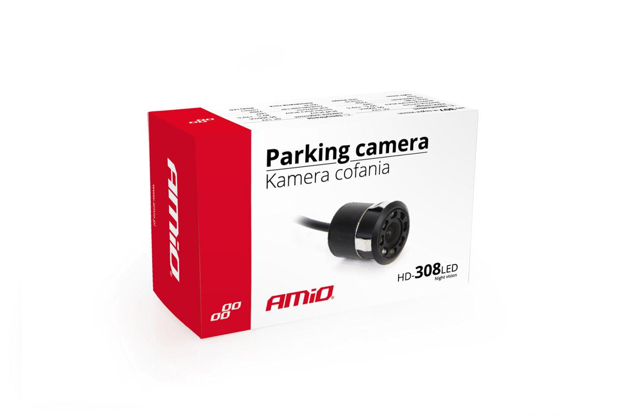 "Reverse camera HD-308-LED ""Night Vision"" 18 mm"