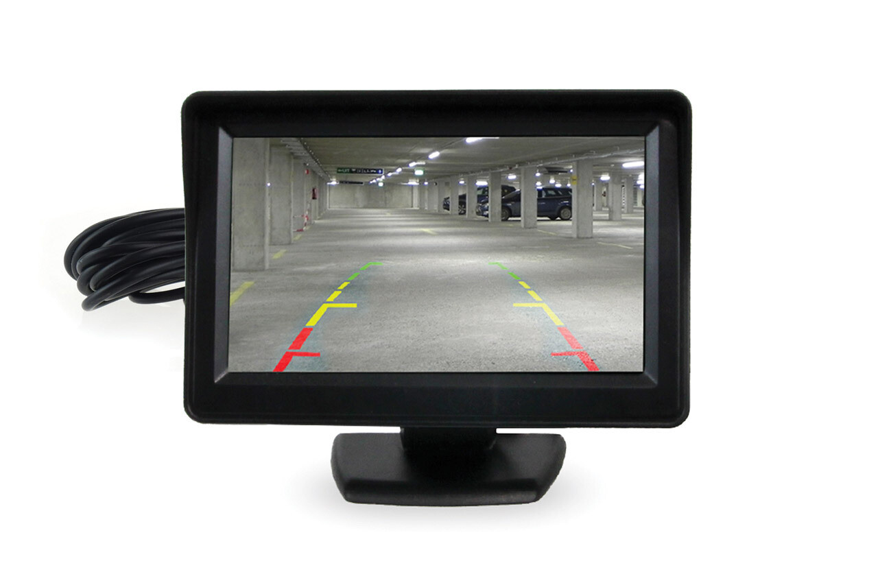 "Display TFT 4,3"" for parking sensors with camera"