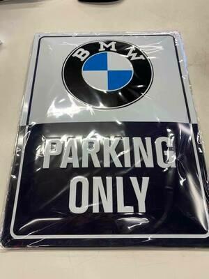 Знак парковки для BMW