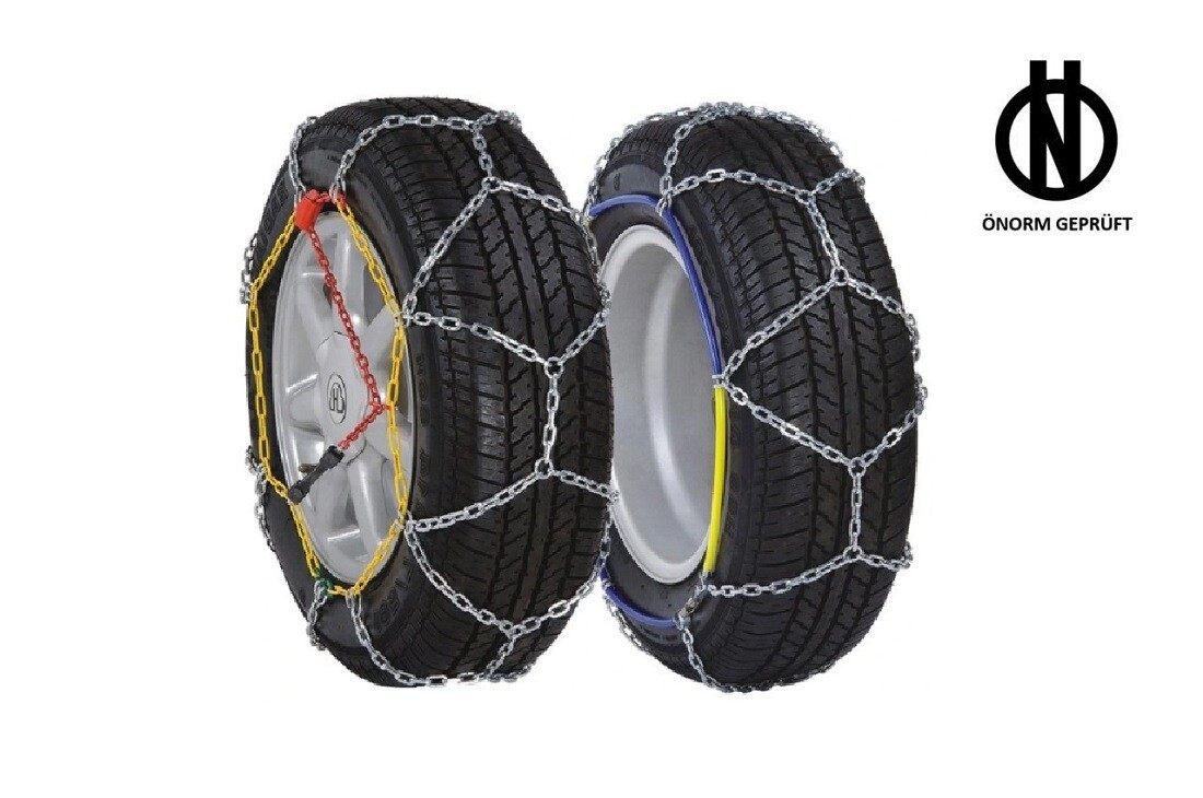Ö-Norm Snow Chains 9mm + BAG KNS-110