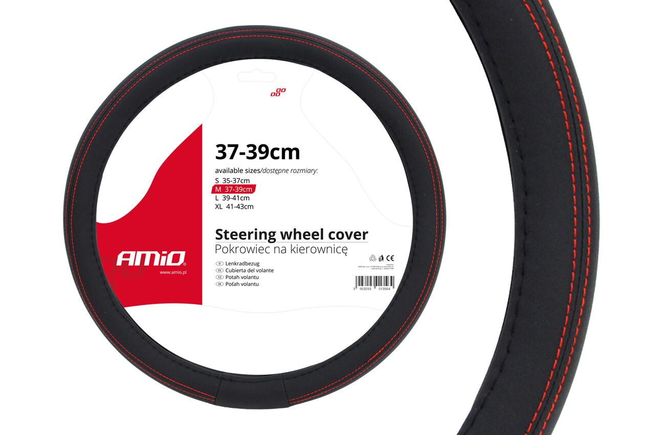 Чехол для рулевого колеса SWC-01-M (37-39cm)
