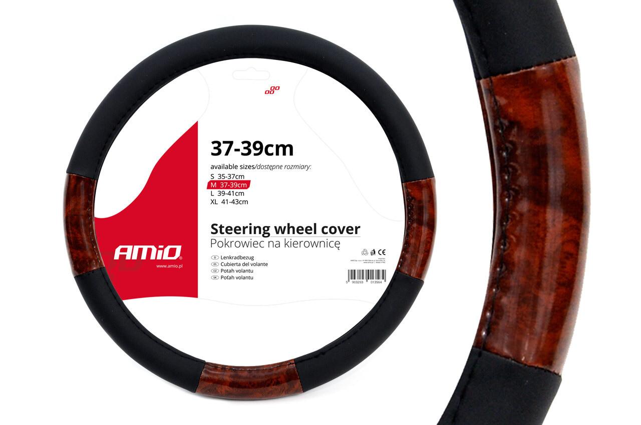 Чехол для рулевого колеса SWC-03-M (37-39cm)