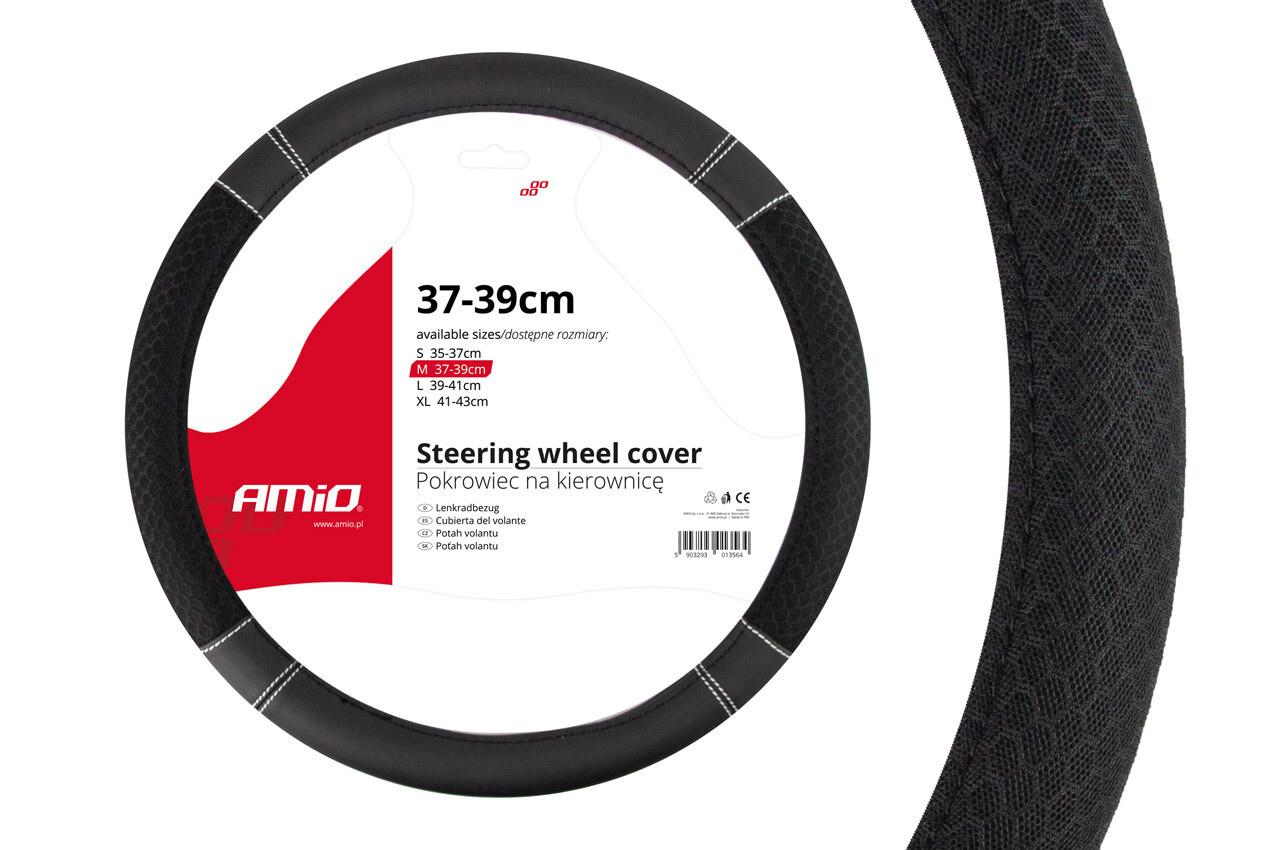 Чехол для рулевого колеса SWC-20-M (37-39cm)