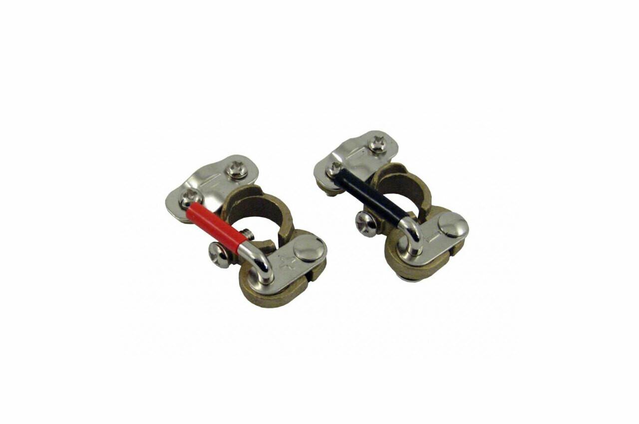 Brass battery terminals 2 pcs.