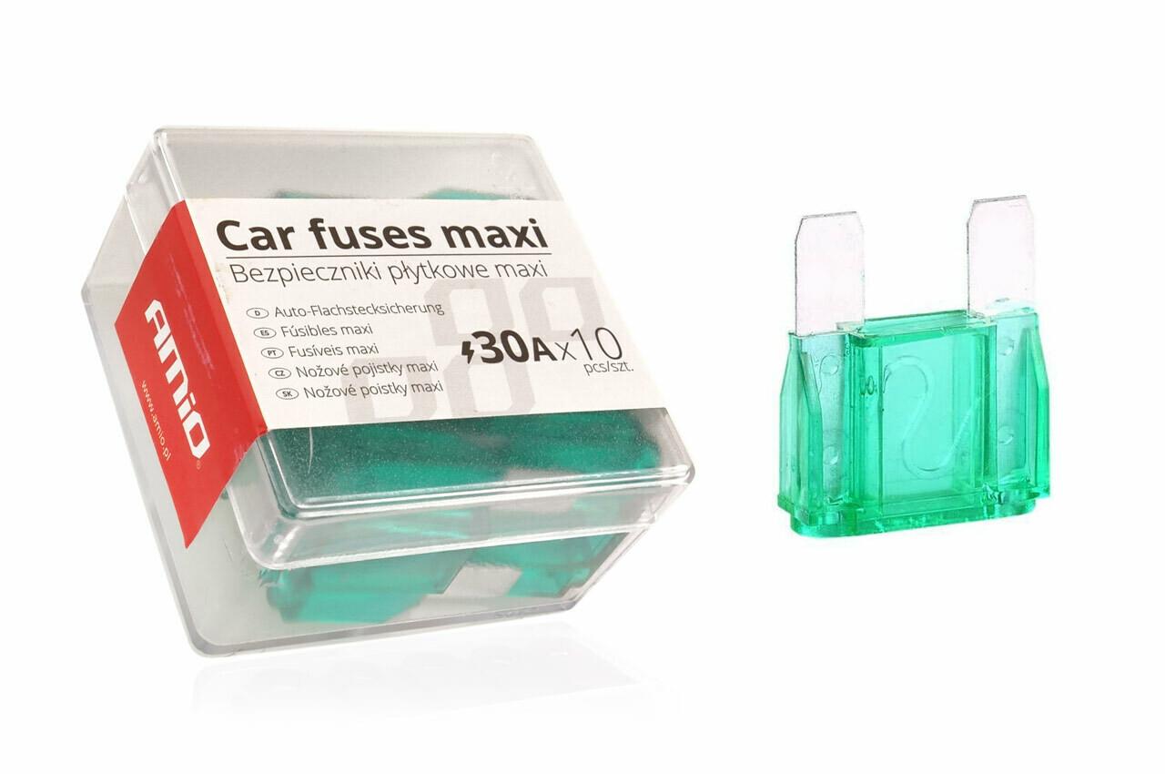 MAXI fuse box 10 pcs 30A