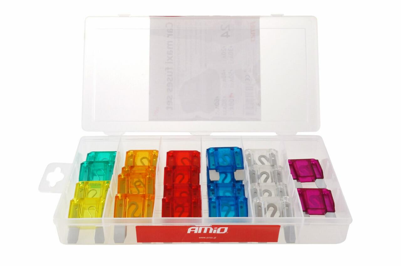 MAXI fuse box mix 24pcs
