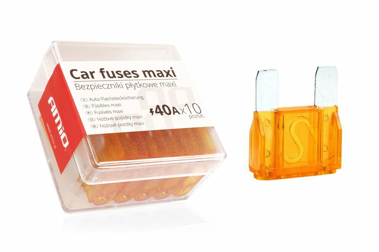 MAXI fuse box 10 pcs 40A