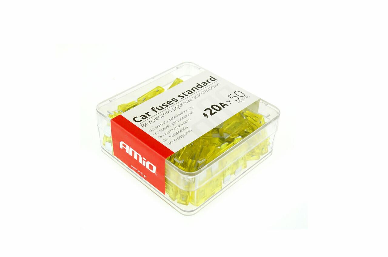 Standard fuse box 50pts 20A