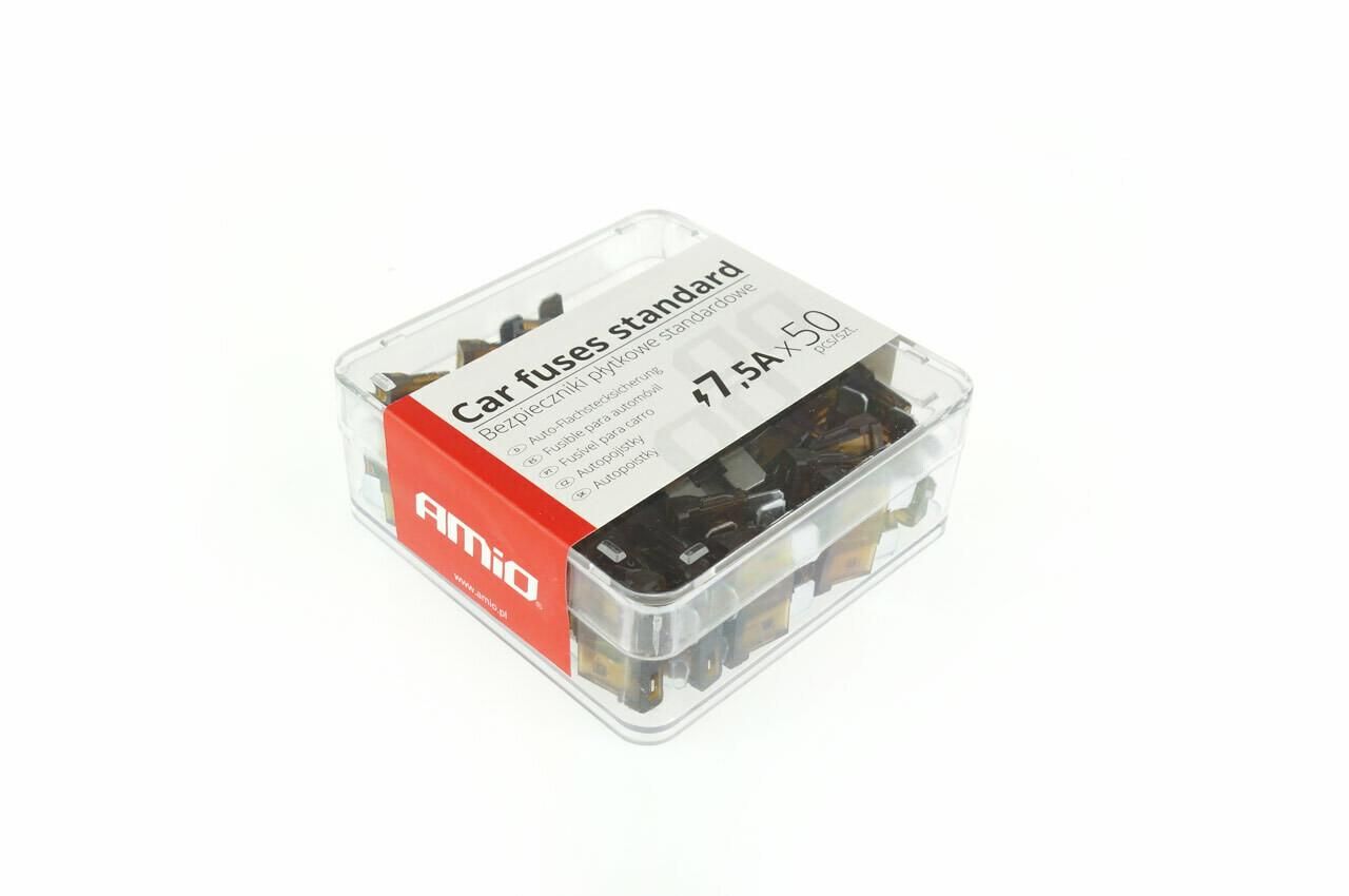Standard fuse box 50pts 7,5A