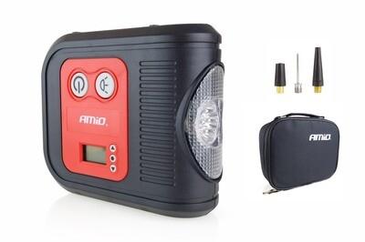Car Air compressor with digital pressure gauge and LED light 12V Acomp-10