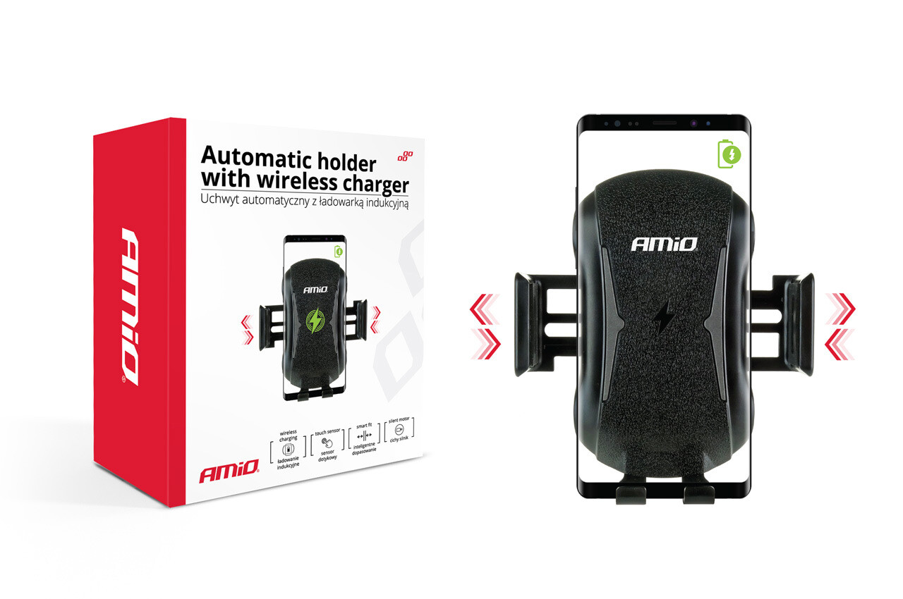 Automatic holder with wireless charger PHW-02 HQ