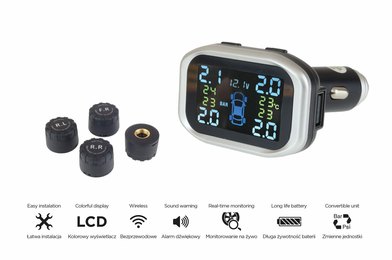 Tire pressure monitoring system TPMS-1