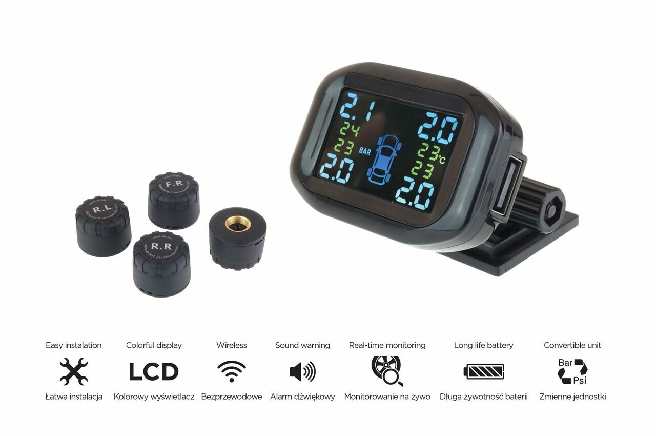 Tire pressure monitoring system TPMS-2