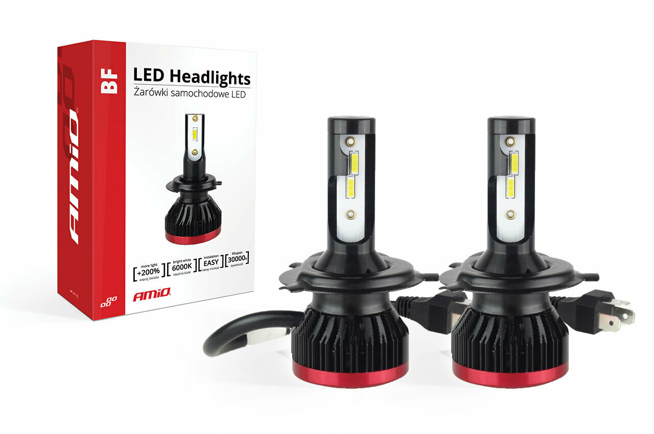 LED Headlight H4 BF Series AMiO