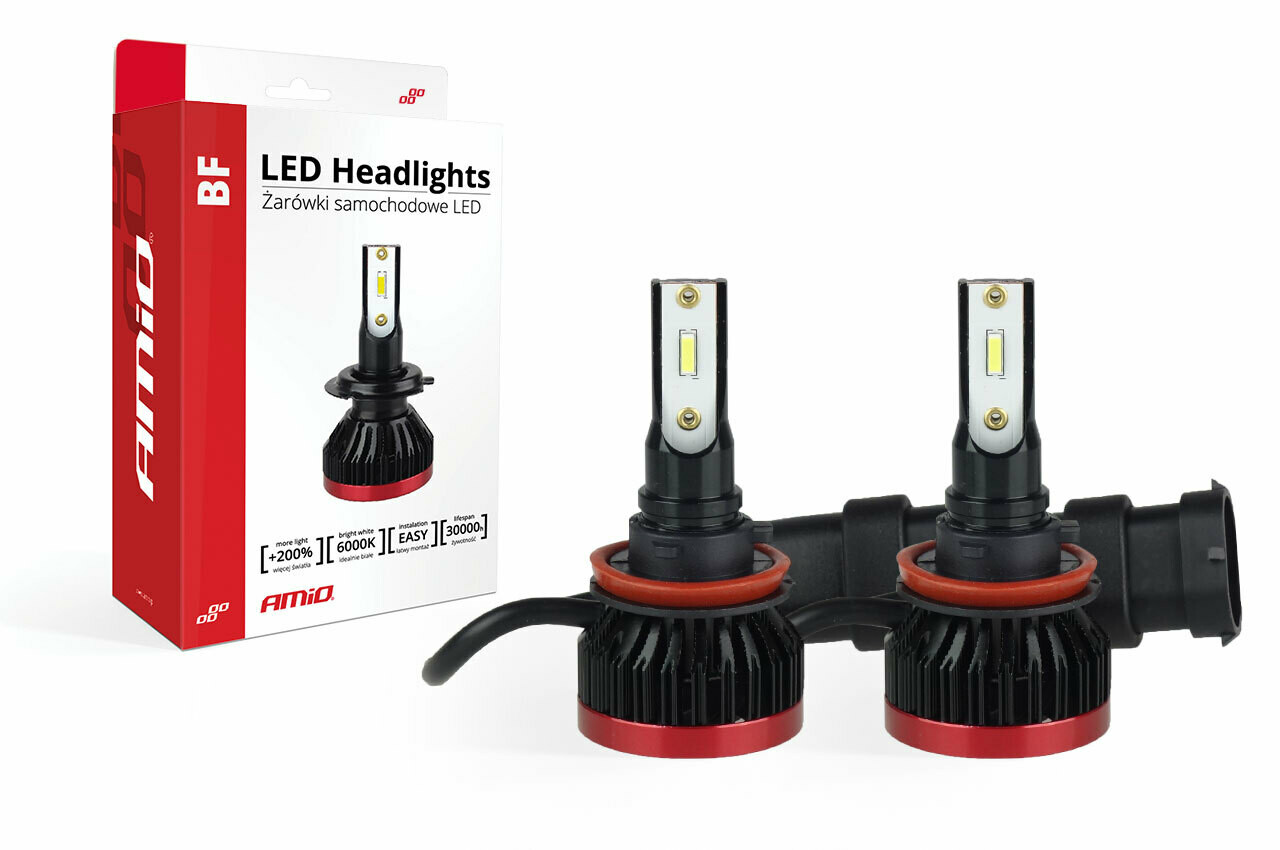 LED Headlight H8/H9/H11 BF Series AMiO