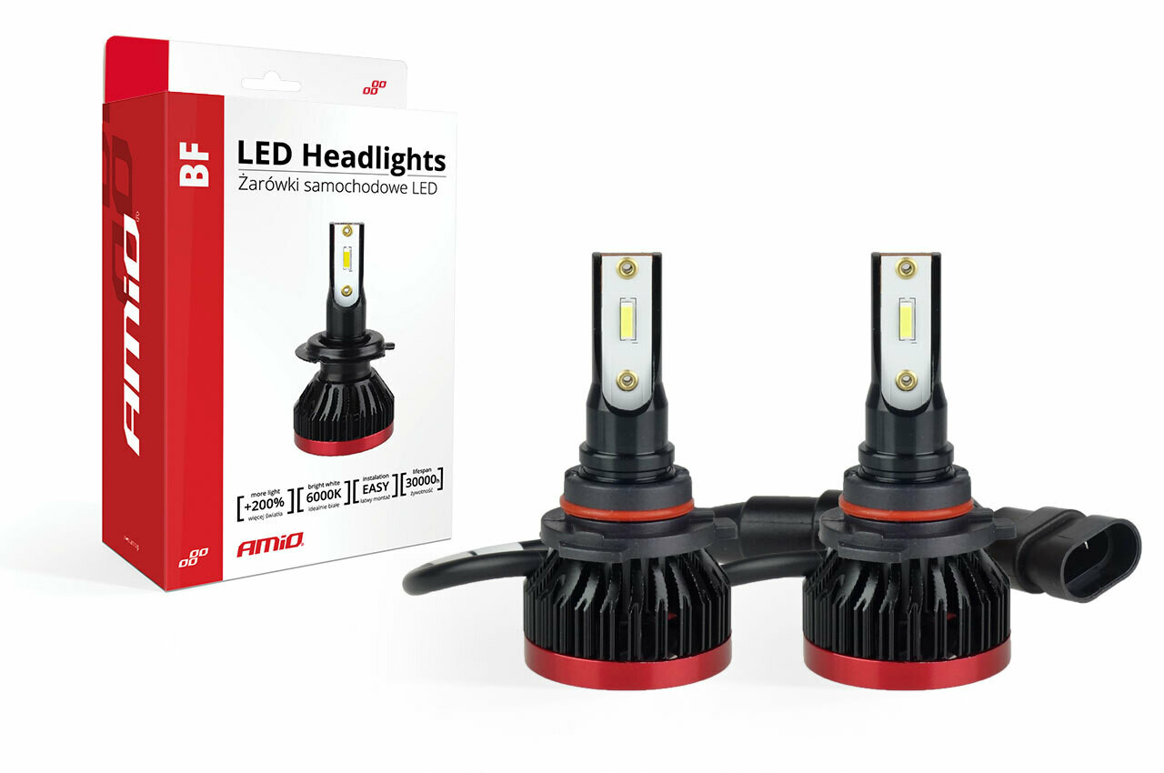 LED Headlight HB3 9005 BF Series AMiO