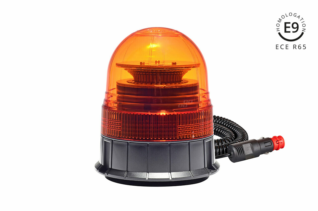 Warning Lamp W02M Magnetic R65 R10 39LED 12/24V IP56
