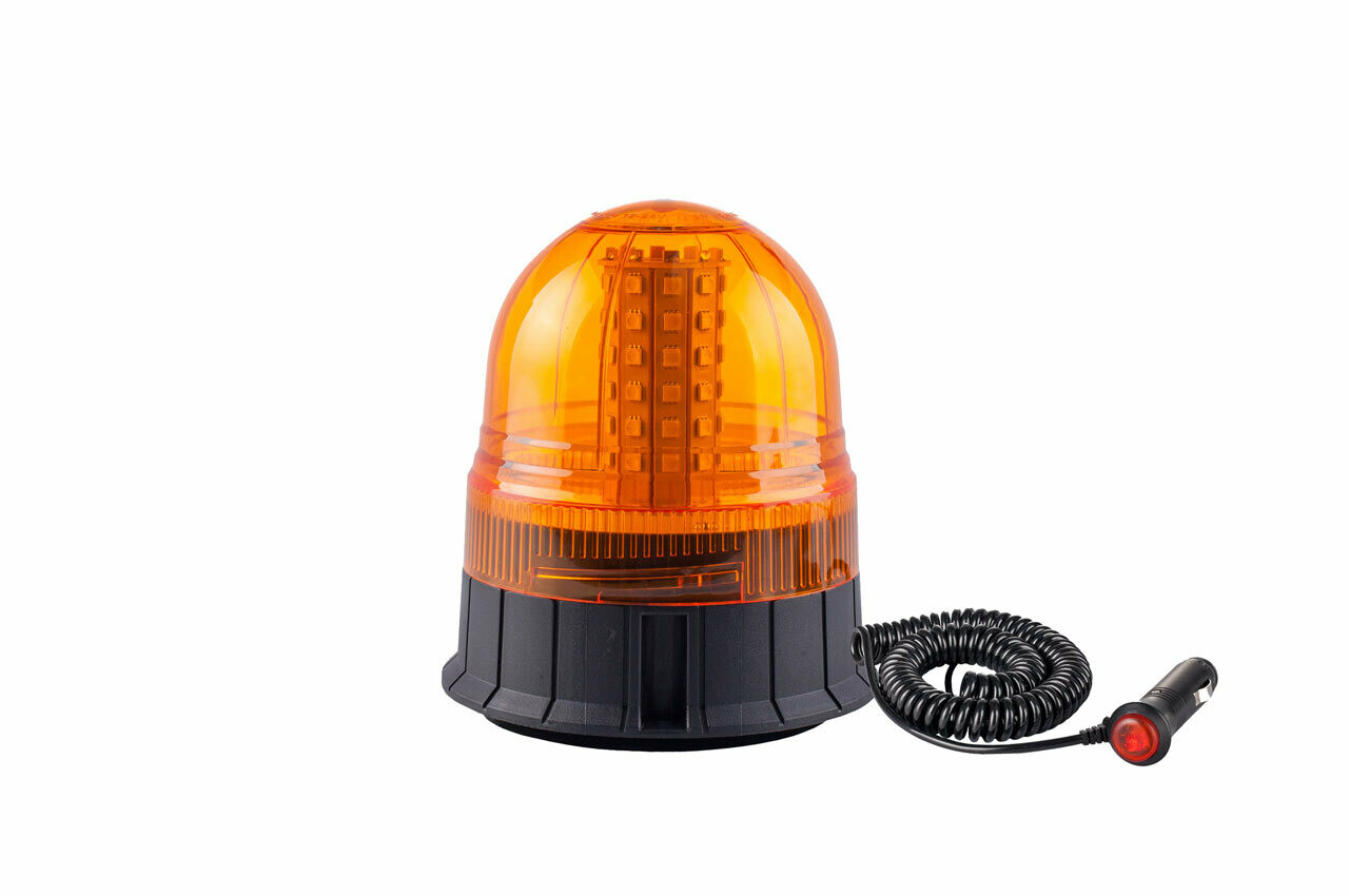 Warning lamp WAR09M, ECE R10 60LED 12/24V IP56