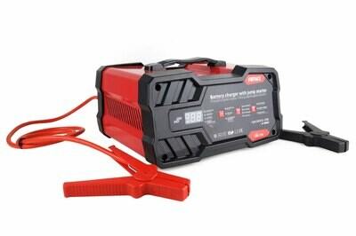 Battery charger 12A 6/12V with jump starter 75 A P/N: 02400