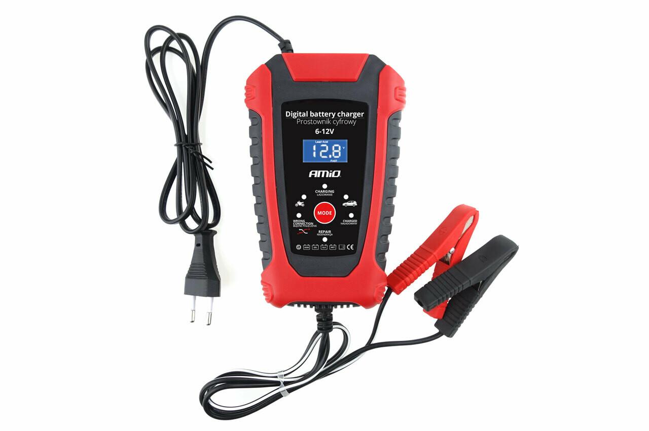 AMiO Battery digital charger 6V/12V - 2A/6A - DBC-02