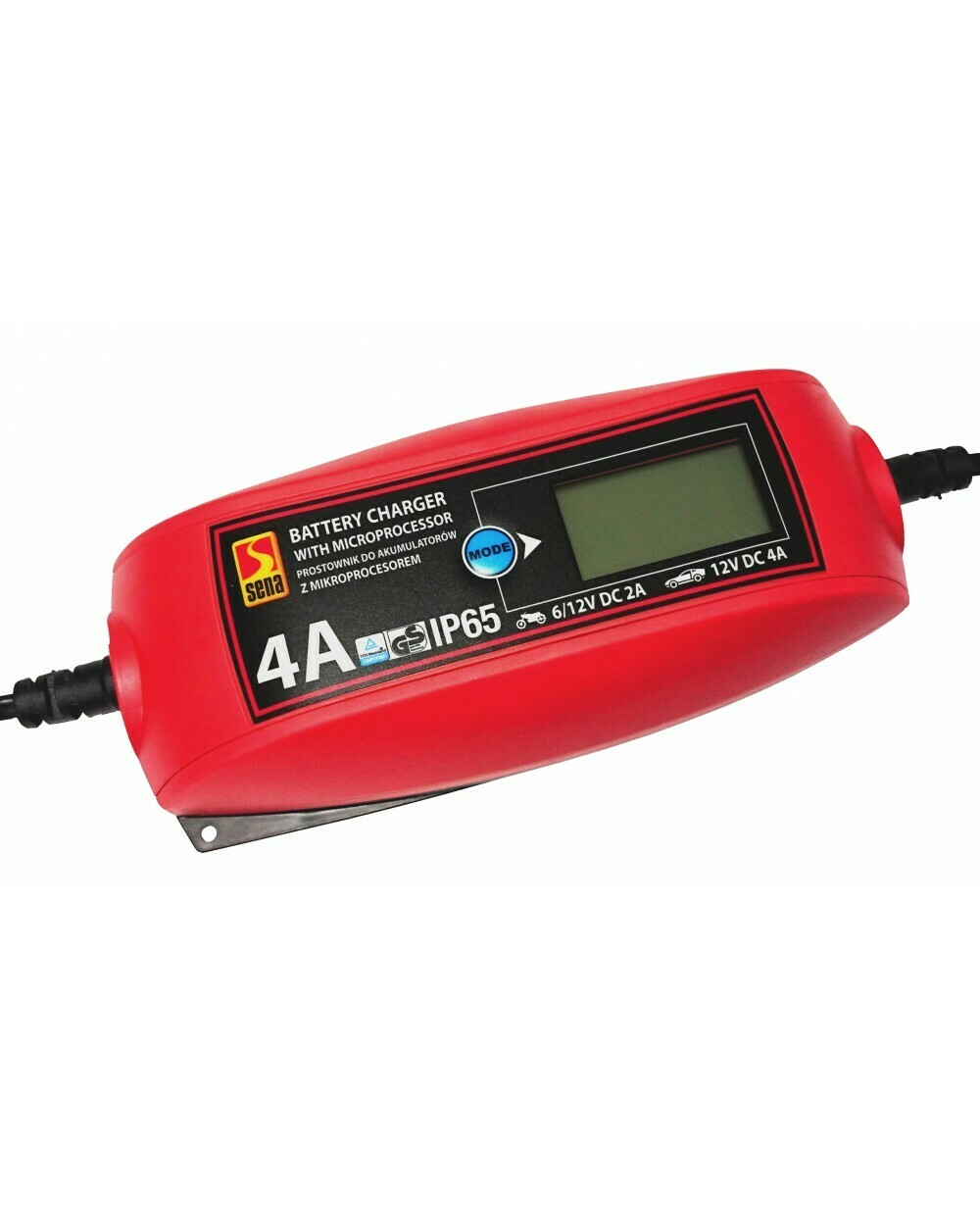 Battery charger with microprosessor 4A/LCD