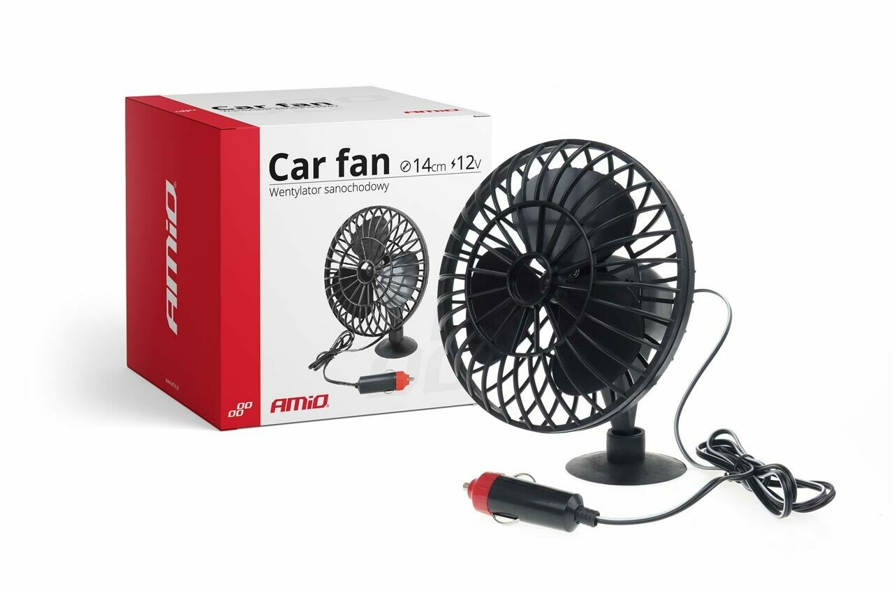 Car Fan with Suction miniFAN 12V