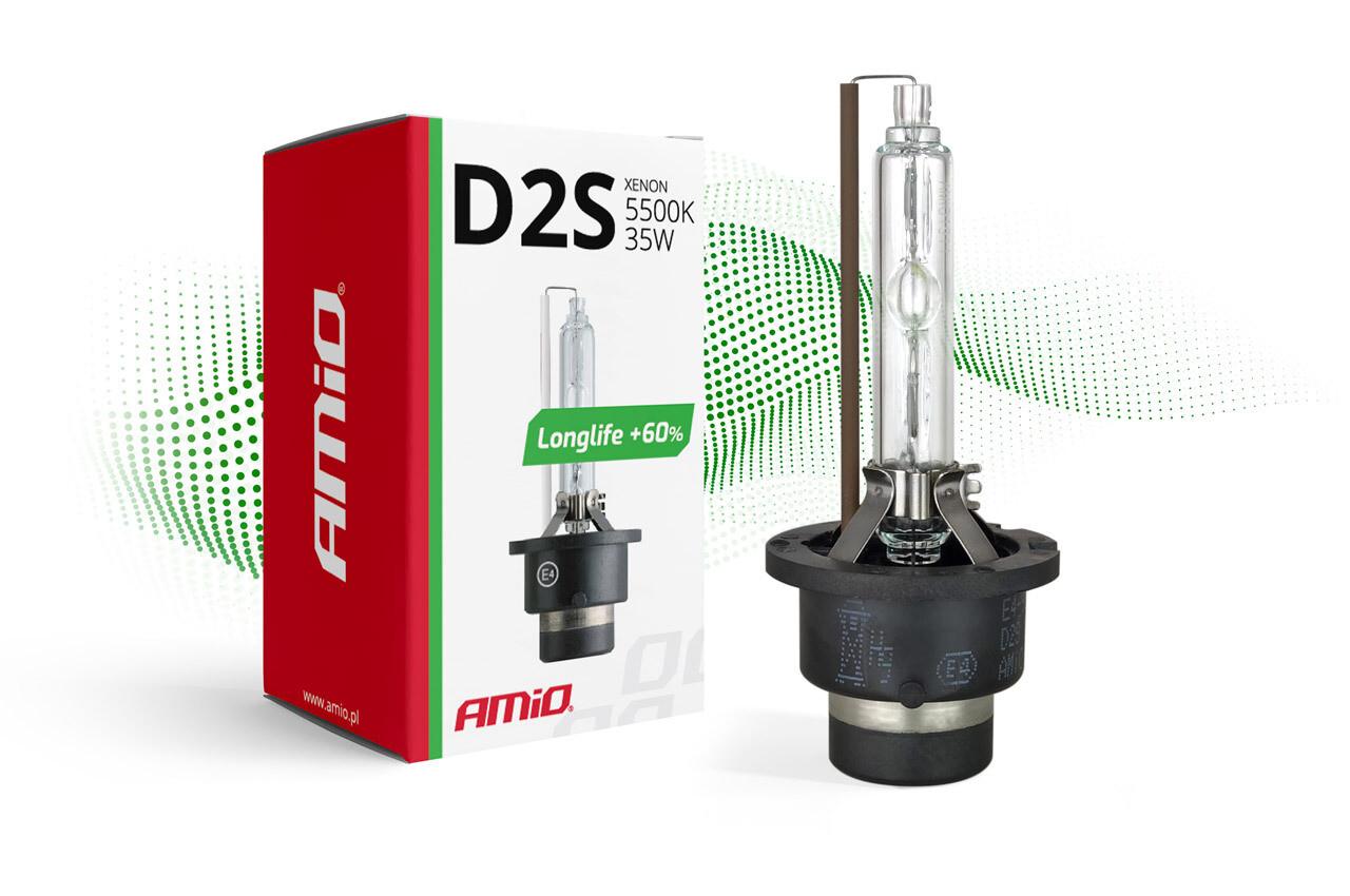 Xenon bulb D2S 5500K LongLife