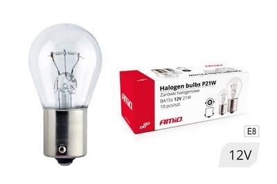 Halogen bulbs P21W BA15s 12V 21W