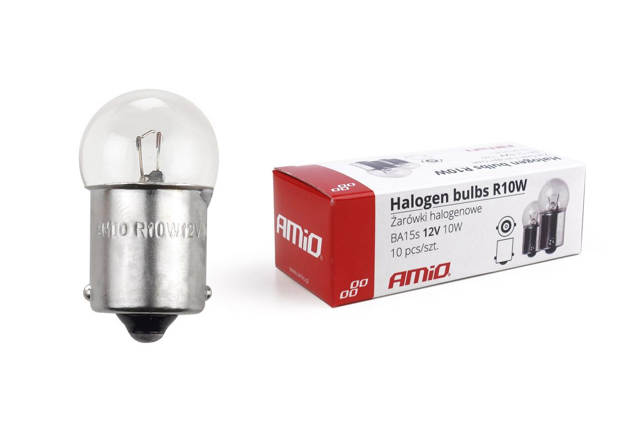 Halogen bulbs R10W BA15s 12V 10W 10pcs