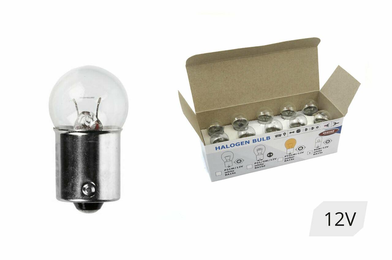 Halogen bulbs R5W BA15s 12V 5W 10pcs