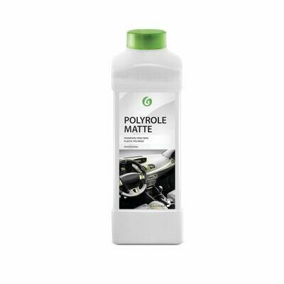 Полироль-очиститель пластика «Polyrole Matte» матовый блеск с ароматом винограда,(канистра 1 л)
